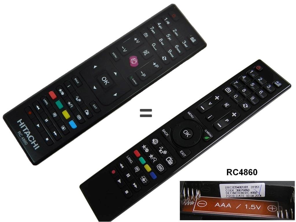 RC4860 Dálkový ovladač Vestel LCD TV / 30076860