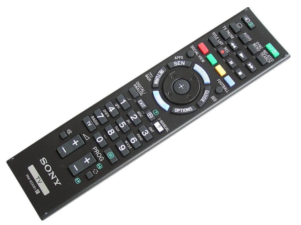 RMED061 / RM-ED061 Dálkový ovladač SONY originální 1-492-725-21