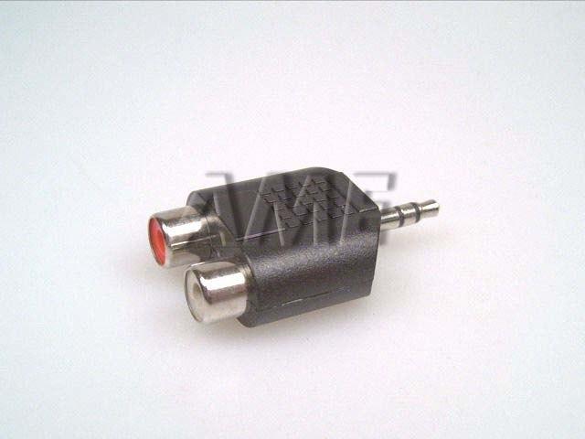 Redukce konektoru jack 3.5mm / 2xCINCH
