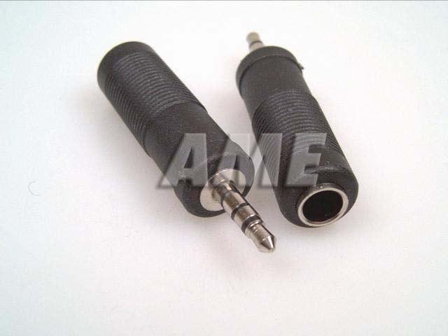 Redukce konektoru jack 3.5mm / jack 6.3mm