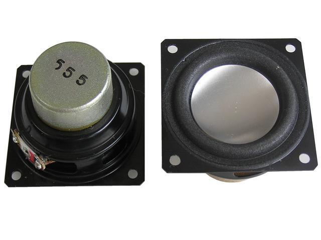 Reproduktor TV 6 ohm 4W širokopásmový pro LCD a Plasma TV, ozdobná membrána