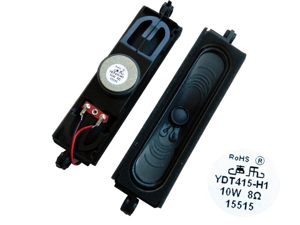 Reproduktor TV 8 ohm 10W širokopásmový pro LCD, YDT415-H1 / YDT415-G1