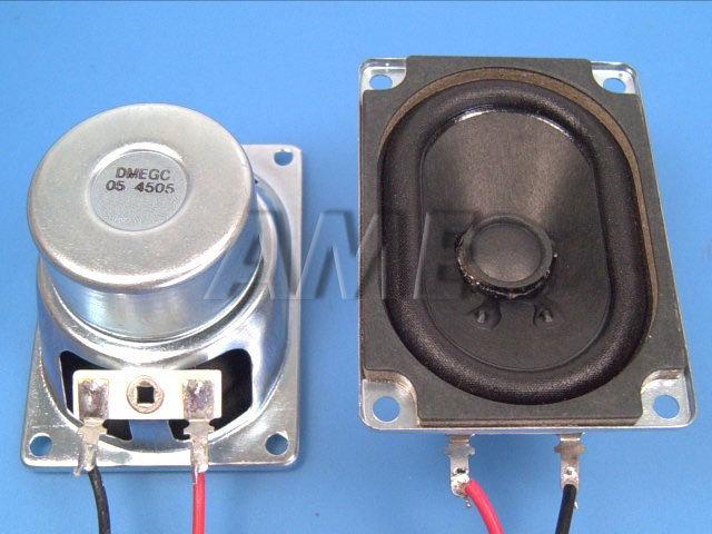 Reproduktor TV 8 ohm 6W širokopásmový