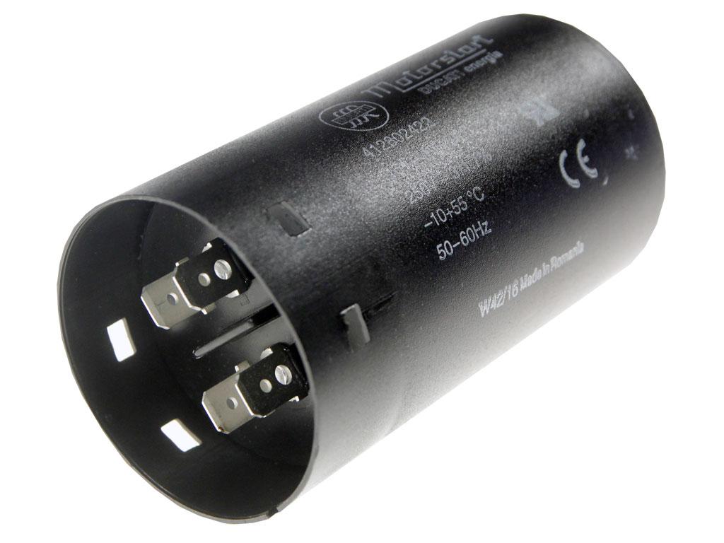 Rozběhový kondenzátor 160uF 200V / 250V, motorový kondenzátor