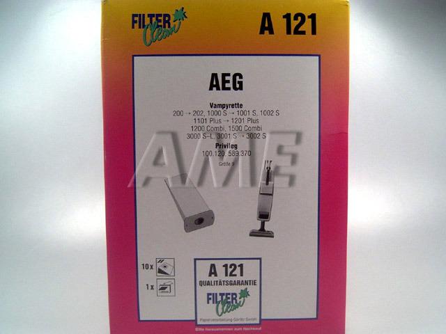 Sáčky do vysavače AEG, PRIVILEG - A121
