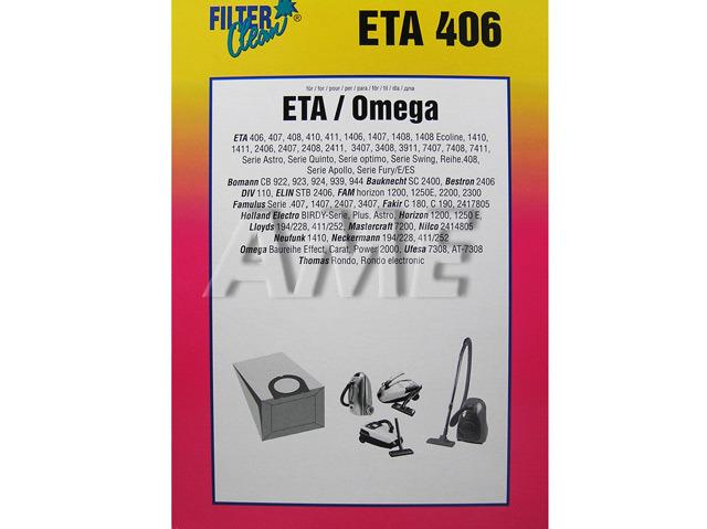 Sáčky do vysavače ETA / Omega / ETA406 - DL28