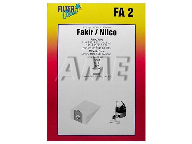 Sáčky do vysavače FAKIR, NILCO - FA2
