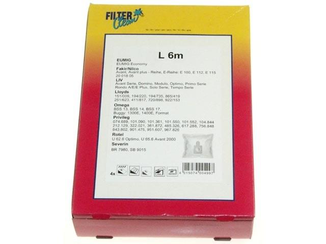 Sáčky do vysavače LIV, Omega - L6m , L 6m