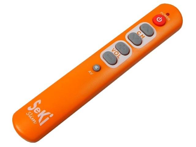 SeKi Slim - univerzální učící se dálkový ovladač oranžový