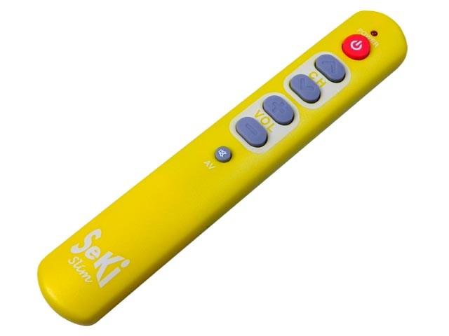 SeKi Slim - univerzální učící se dálkový ovladač žlutý