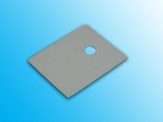 Silikonová podložka 26x20x0,3mm - s textilní vložkou