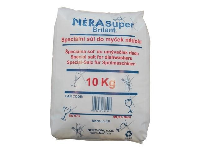Sůl do myčky - drcená Néra Super Brilant balení 10 kg
