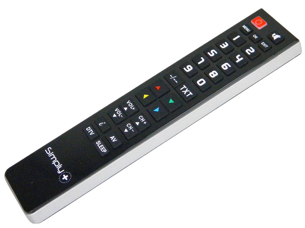 Superior Simply Plus samostatný programovatelný dálkový ovladač