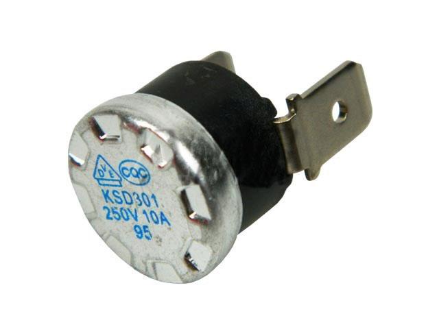Tepelná pojistka vratná 95°C 10A / 250V