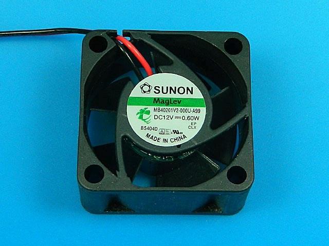 Ventilátor 40x40x20mm 12V / 50mA Sunon MB40201V2-000U-A99