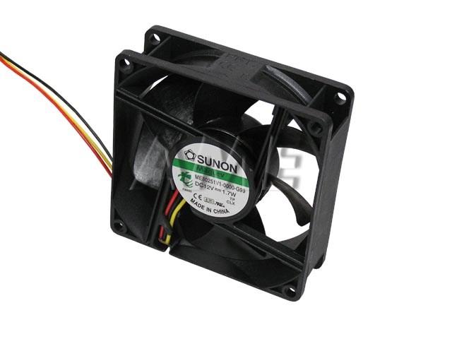 Ventilátor 80x80x25mm 12V / 145mA Sunon ME80251V1-000U-G99