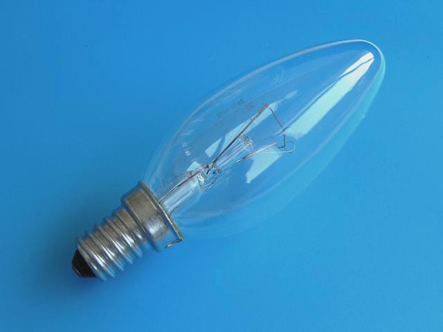 Žárovka E14 40W / 230V - průmyslové použití ( klasická žárovka tak jak jí léta známe )