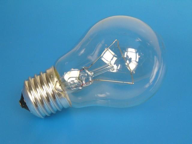 Žárovka E27 100W / 230V - průmyslové použití ( klasická žárovka tak jak jí léta známe )