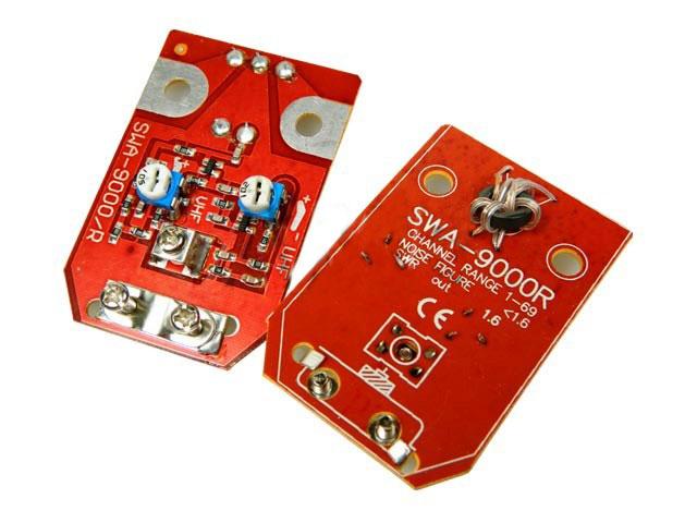 anténní zesilovač SWA9000 s regulací UHF SWA-9000 do síta - zesílení 20-34 dB