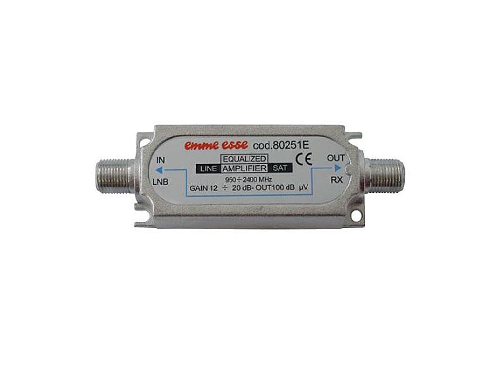 anténní zesilovač linkový AMP-015 15dB pro DVB-T