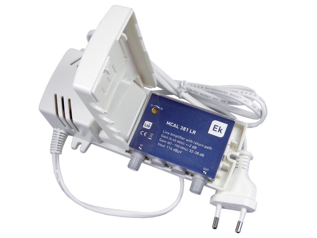 anténní zesilovač mikro provedení ITS MCAL381L s napaječem