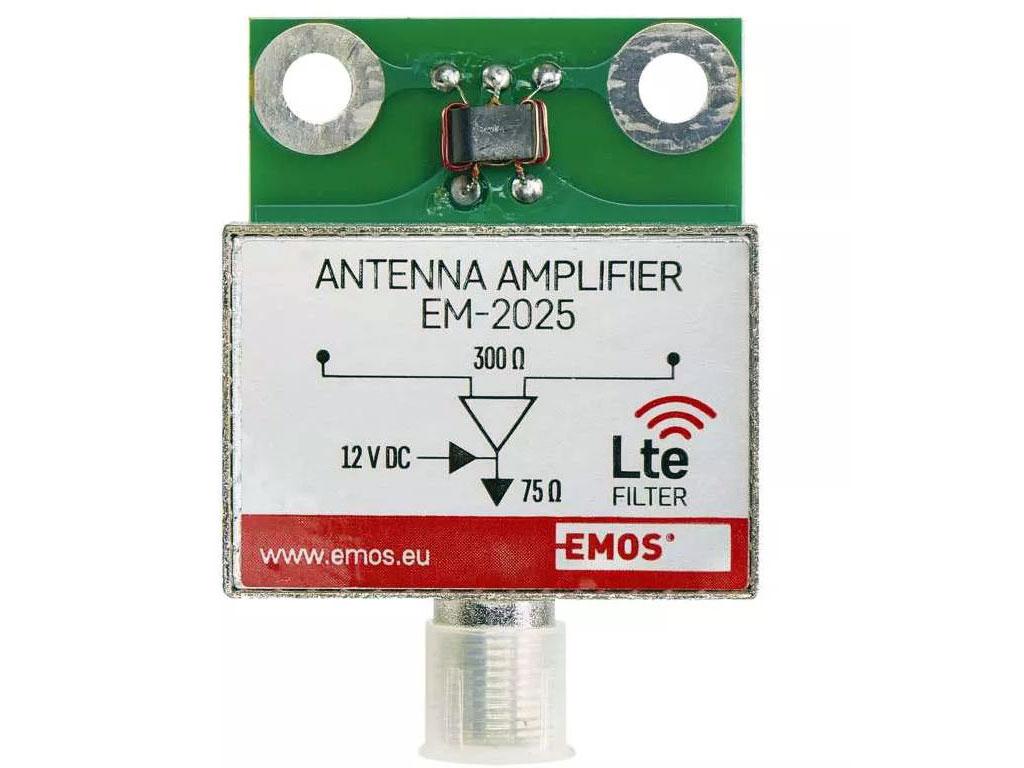 anténní zesilovač pro DVB-T BEN-025 do síta - zesílení 25dB