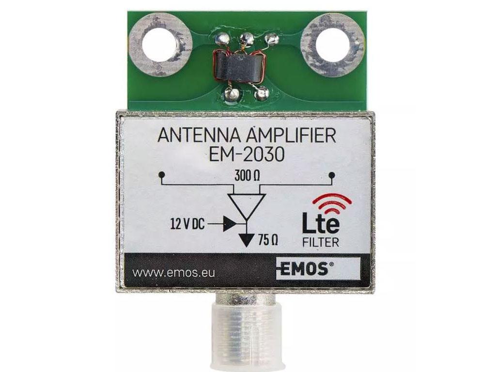 anténní zesilovač pro DVB-T BEN-030 do síta - zesílení 30dB