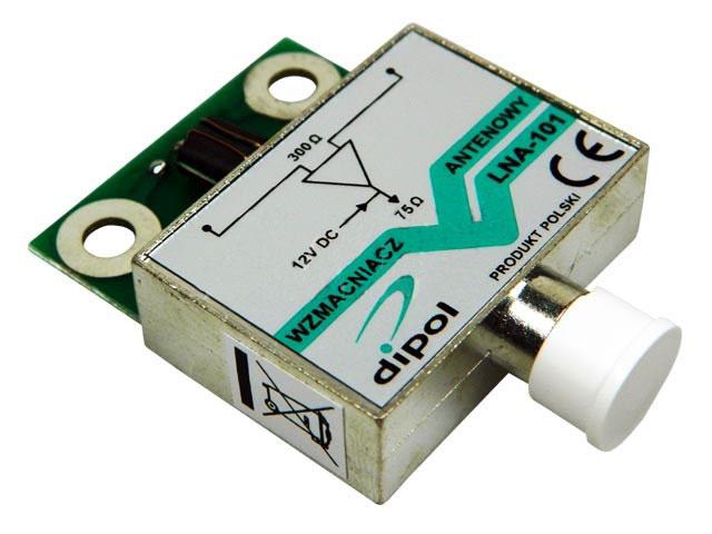 anténní zesilovač pro DVB-T LNA-101 do síta - zesílení 16dB
