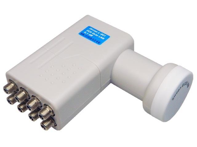 konvertor LNB Octo Zircon L801 ECO univerzální 0,1dB