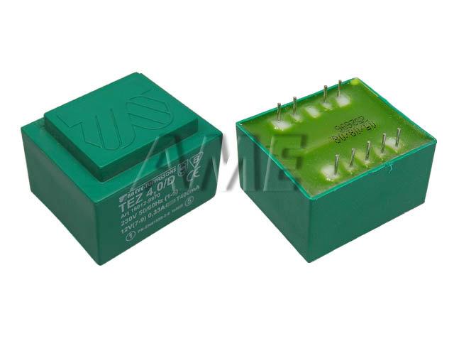 transformátor síťový do plošného spoje 230 / 12V - 4VA