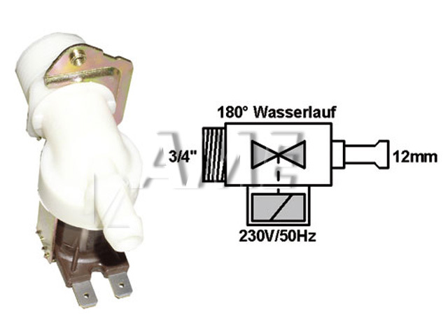 ventil napouštěcí univerzální 1xcestný (180 st.) přímý
