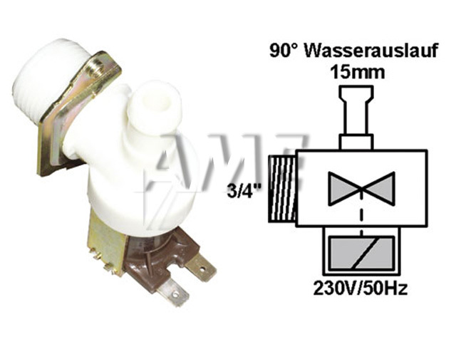 ventil napouštěcí univerzální 1xcestný (90 st.) 2