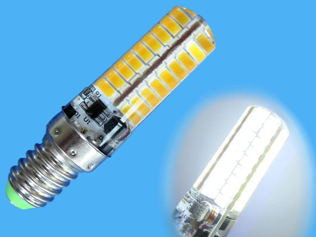 žárovka LED E27 - žlutá